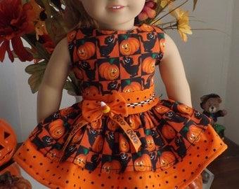 Halloween dress for American Girl Maryellen
