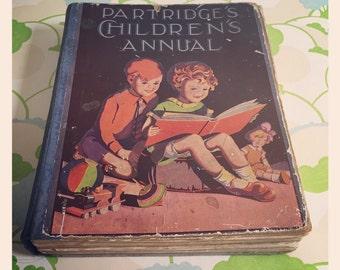 Reduced *Vintage Partridges Children's Annual - circa 1920/30