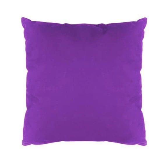 purple color canvas pillow case housewarmin gift home. Black Bedroom Furniture Sets. Home Design Ideas