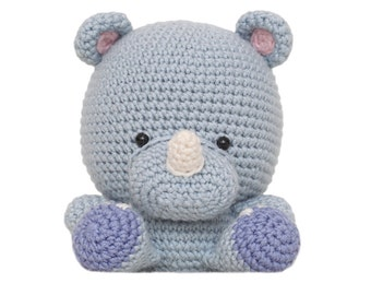 Rufus the Rhino Amigurumi Pattern