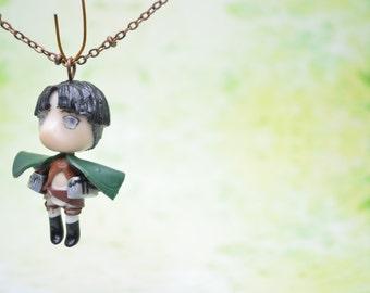 Attack on Titan (Shingeki no Kyojin) Chibi Necklaces