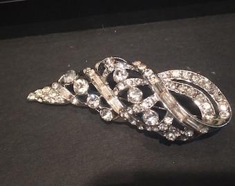 Rhinestone brooch, fashion jewelry , brooch