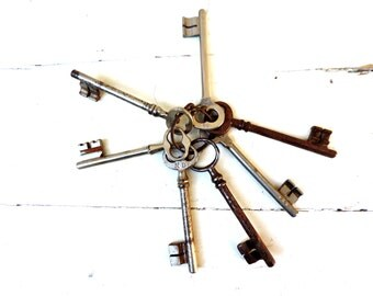 French Vintage Skeleton Keys/Vintage Skeleton Keys/Vintage Keys
