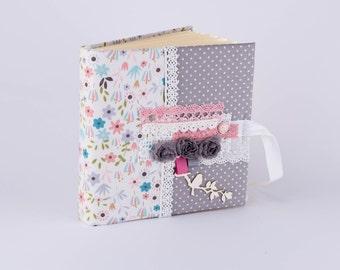 Small photo album, Polaroid album, InstaAlbum, Baby album, Scrapbook album, Floral photo album, Handmade album, Album