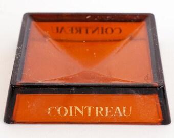 Vintage Cointreau advertising ashtray