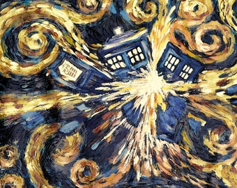Doctor Who - Exploding Tardis - Poster
