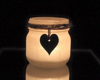 Tea Light Candle Holder, Glitter Candle Holder, Glitter Candle, Battery Candle Holder, Mason Jar Candle Holder, Home Decor, New Home Gift