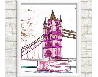 London Bridge Design - Digital Download