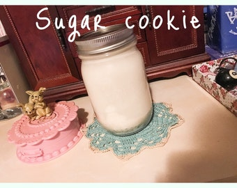 Minty Sugar Cookie Soy Candle
