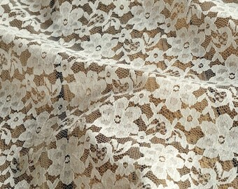 Lace fabric rosa 150cm width by meter