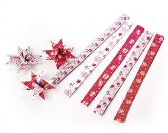 Scandinavian Danish Craft Paper Kit for Making Star Decorations