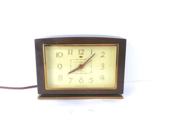 50s Working GE Electric Alarm Clock, Retro Clocks, Modern Clocks, Atomic Clocks, General Electric 7H188