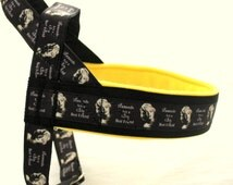 Norway harness with pattern Marilyn Monroe. For dog, IG sighthounds, chihuahua, pugs, bulldogs, Italian greyhound, maltipoo, poodle, whippet
