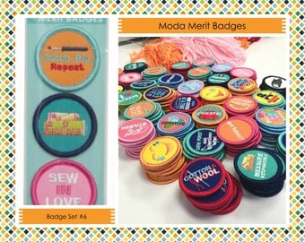 Sewing Merit Badges  - Camp Moda - Moda Fabrics - Merit Badges #6