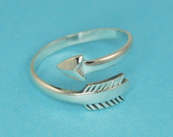 30% OFF Arrow Wrap Ring in Sterling Silver