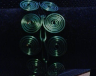 Green Egyptian Spiral Bracelete