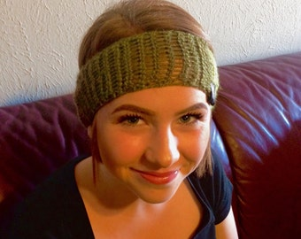 Mixed greens headband