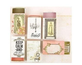 ON SALE - Prima Marketing - Debutante Decorative Matchboxes - Item PM579432