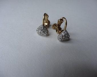 50's Earrings. Fragile Hearts.