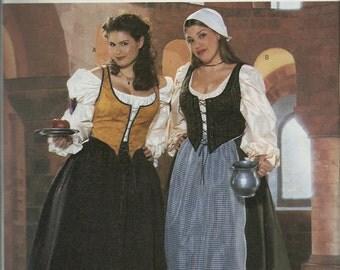 Butterick 6198  Women's Historical Costumes      Sizes 22W-26W     Uncut