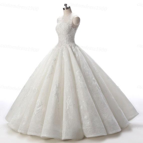 Vintage Lace Wedding Dresses Etsy - Cheap Wedding Dresses