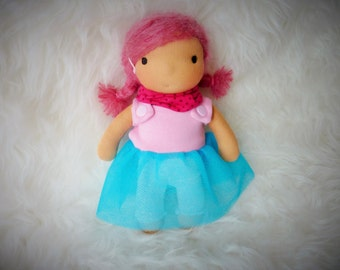 "Clara 9"" Waldorf inspired Doll"