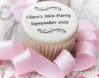 Hen Party Cupcake Toppers