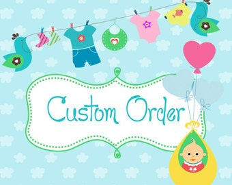 Name on Baby Blankets or Diaper Bags