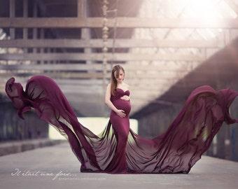 Poppy Dress l Maternity Gown l Photoshoot l Maternity Dress l Baby Shower l Maternity Photography