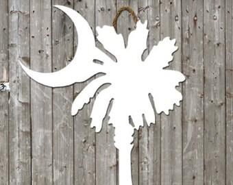 Palmetto Wooden Cutout