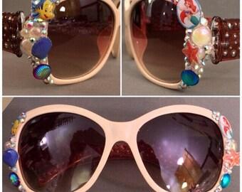 Under the Sea Mermaid Embellished Sunglasses