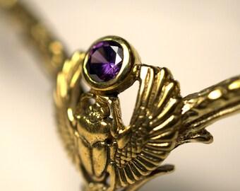 Scarabey diadem (brass)