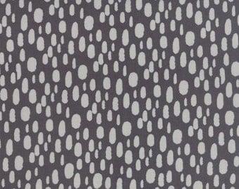 Serenity Dot Charcoal - 1/2yd