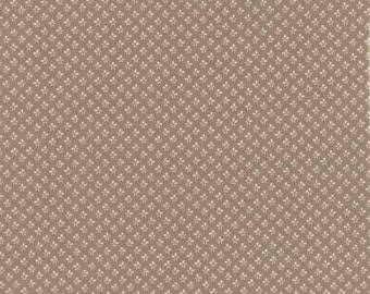 Larkspur Floral Buds Grey - 1/2yd
