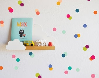 Wall Decal - Rainbow Tiny Dots - Wall Sticker - Room Decor