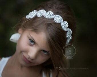 Flower Girl Headpiece Bridal Headpiece