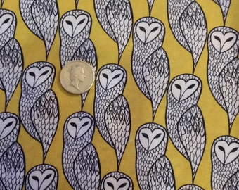 Owl Design wide Fat Quarter