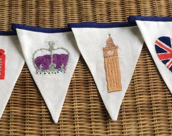 British / London Bunting / Queen's 90th
