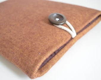 Herringbone Kindle Cover, Kindle Case, Kindle Paperwhite Cover, Kindle Sleeve, Kindle Oasis, Kindle E-Reader Case, Unisex
