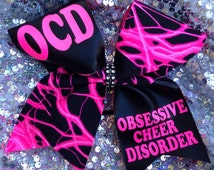 Ocd- Texas cheer bow