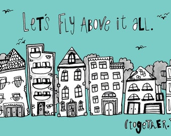 Let's Fly Away Card