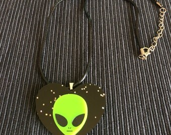Alien necklace.