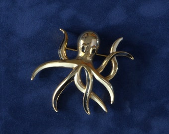 Octopus Pin Vintage Large