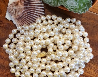 Super Long Strand of Pearls