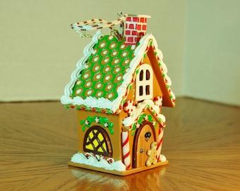 Elfin Bungalow Gingerbread House