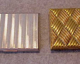 2 CIGARETTE CASES Both ELGIN one from the 30's one from the 40's