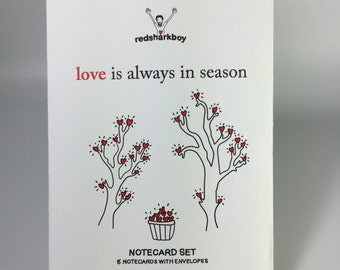 Season of Love Notecards (Set of 8)