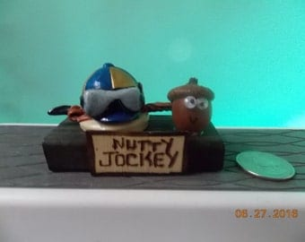 """Nutty Jockey - What are you """"Nuts"""" about?"""