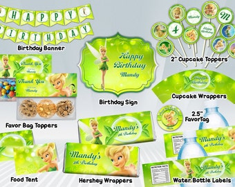Tinkerbell Printable Party Package