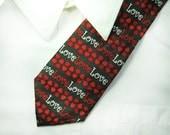 Valentine Krawatte - Jahrgang Krawatte, Entwerfer Krawatte, Anzug, Krawatte, Party-Krawatte - Valentinstag Geschenk für ihn, # T 16